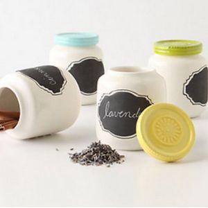 Like new! Anthropologie Jars